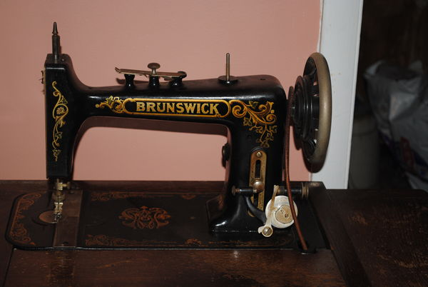ISO Parts  Brunswick VS Sewing Machine