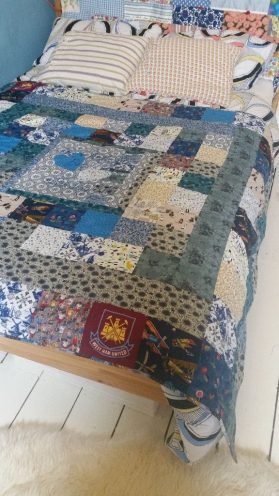 Lia, Anthony's, personalised, wedding, quilt