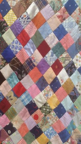 1930's quilt from Quilters Guild own collection