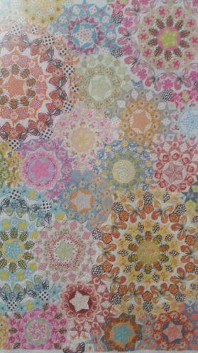 Garden inspired patchwork quilt