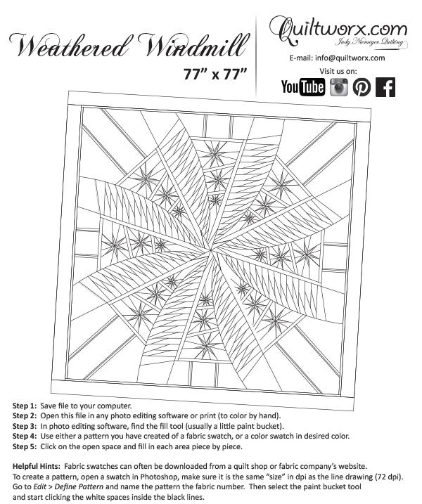 Weathered Windmill