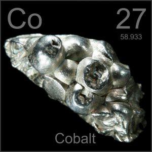 elemento químico cobalto