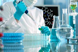 científicos laboratorio investigación