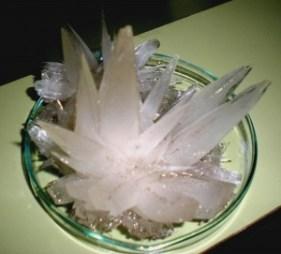 cristalización cristales