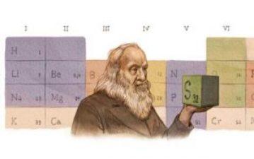 Google rindió homenaje al creador de la tabla periódica