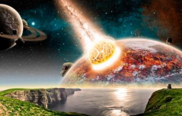 la teoría del big bang explosión estallido