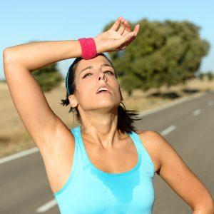 ejercicios actividad física cansado agotamiento