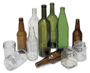 Vidrio botellas