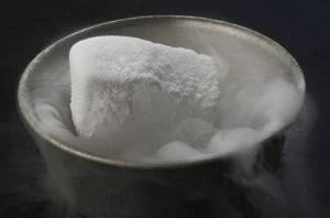 hielo seco