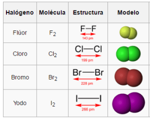 halógenos grupo 17