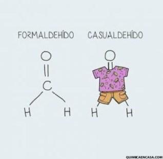 Formaldehido, humor químico