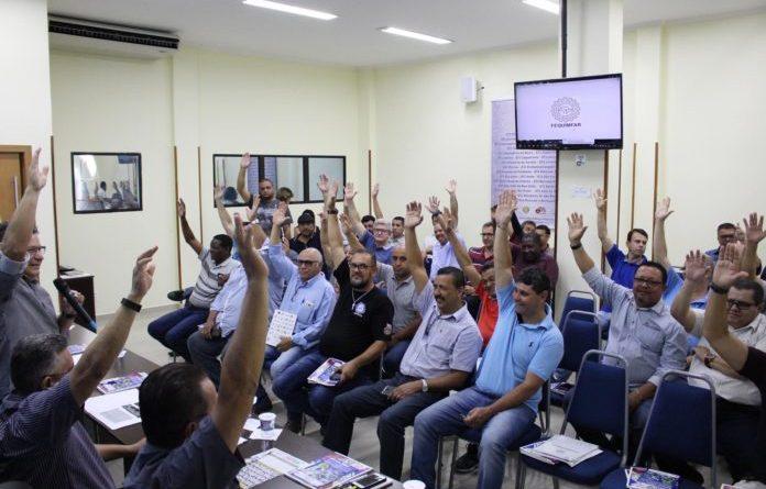 FEQUIMFAR/Força Sindical, FETQUIM/CUT e Sindicatos filiados assinaram a Convenção Coletiva de Trabalho do setor químico/plástico.