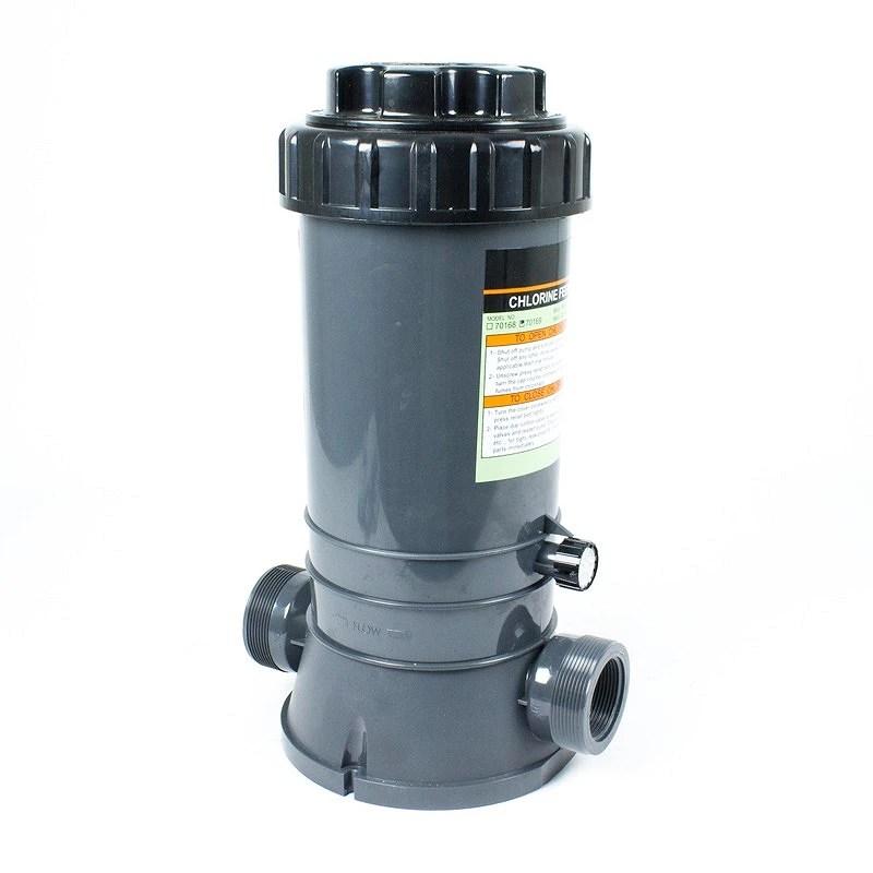 Dosificador de cloro y bromo in line 4 kgs  Quimipoolcom