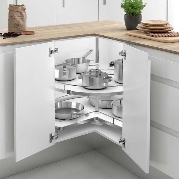 tourne disque de 270 type de meuble d angle de cuisine en ligne compact