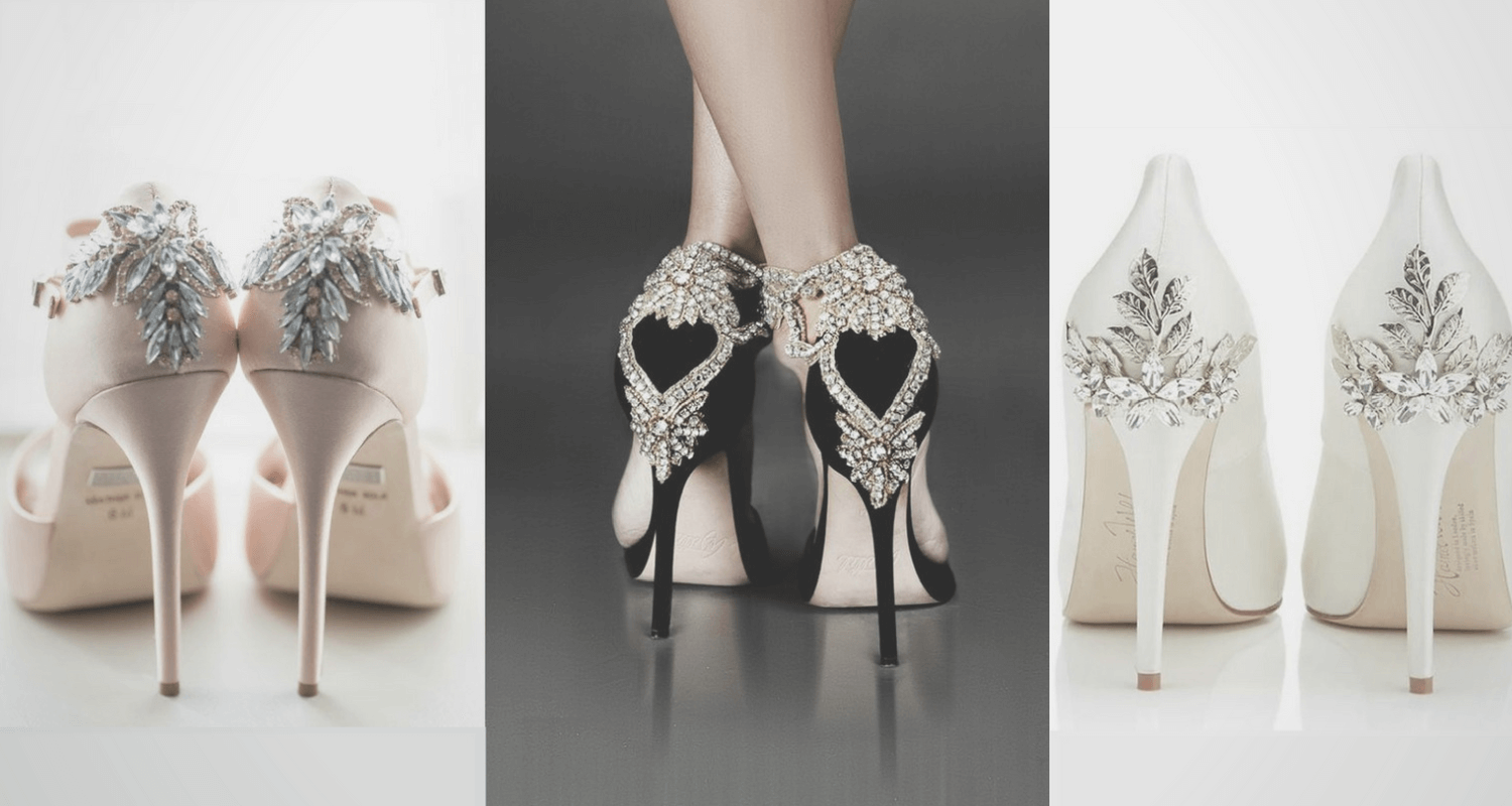 Bejeweled Quinceaera Shoes