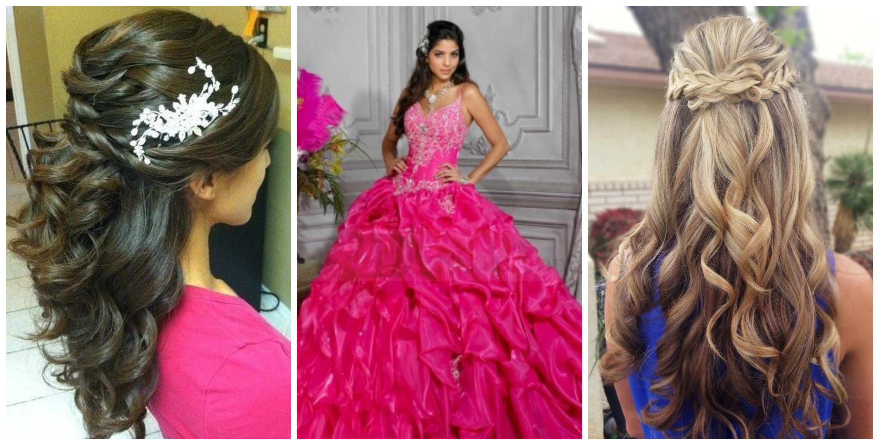 The Perfect Quince Hairstyle for Your Dress Quinceanera