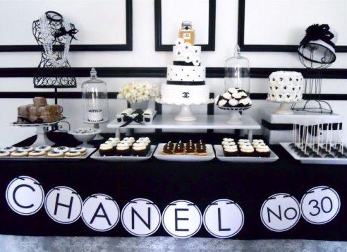 chanel candy buffet