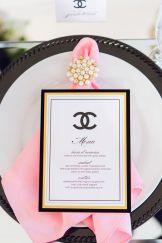 chanel table set
