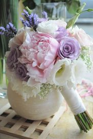 pink purple bouquet