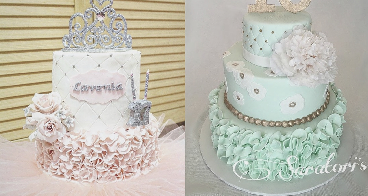 50 Whimsical Ruffle Quinceanera Cakes To Choose From