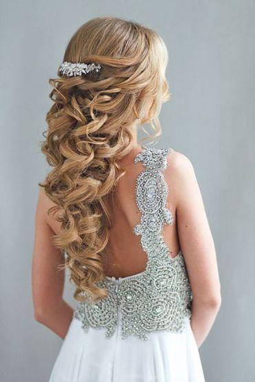 15 Prettiest Half Up Quinceanera Hairstyles Quinceanera