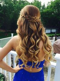 Brilliant 15 Prettiest Half Up Quinceanera Hairstyles Quinceanera Short Hairstyles For Black Women Fulllsitofus