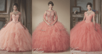 Coral Quinceanera Dresses You Have to Try On - Quinceanera