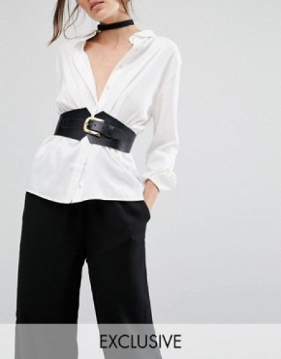 Corset Waist Belt $68; Click here to purchase