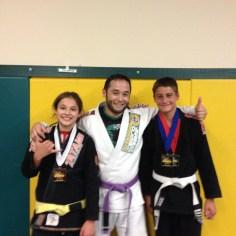 Jaselyn Jones and Isaac Haley of Quincy Brazilian Jiu-Jitsu in Grant County, WA