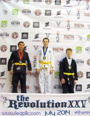 Ethan Highfill of Quincy Brazilian Jiu-Jitsu in Grant County, WA
