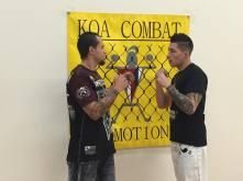 Edson Penado KOA Combat Face Off
