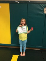 Congratulations to Alexis finishing Bully Camp