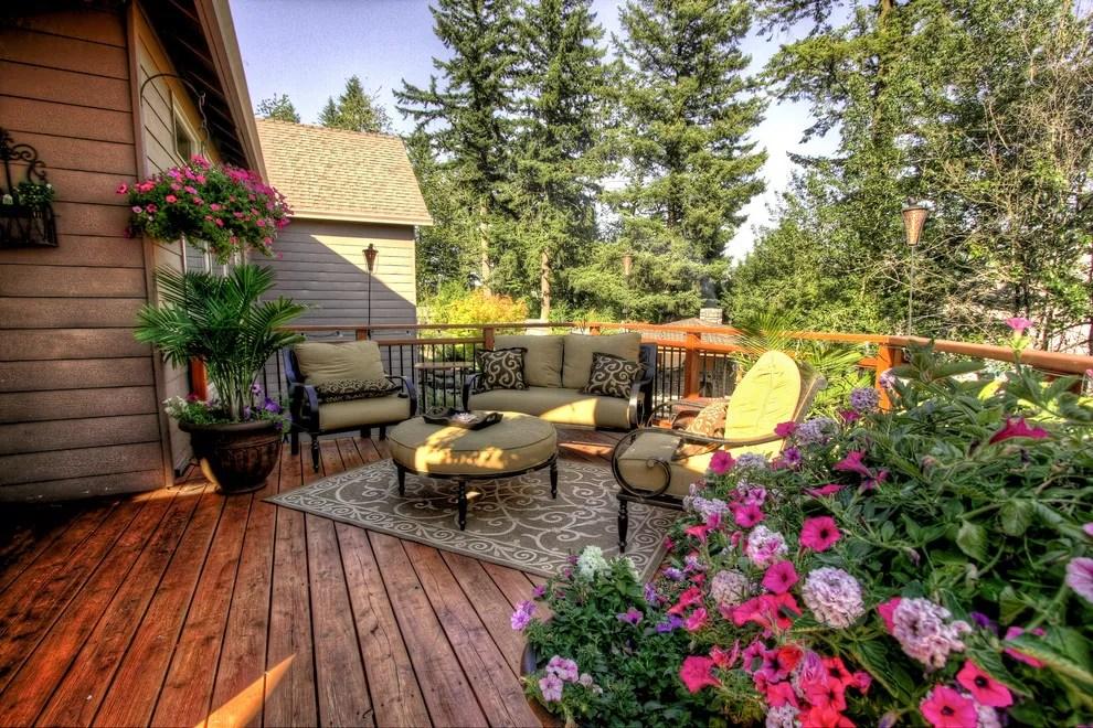 Outdoor Patio Deck Decor Plants Quinju Com Quinju Com