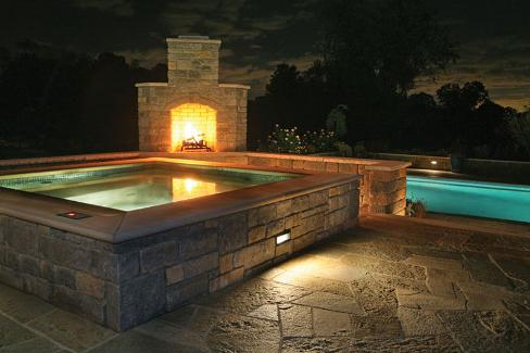 detached raised spa and outdoor fireplace quniju com quinju com rh quinju com fireplace and spa novi mi fireplace and spa/michigan