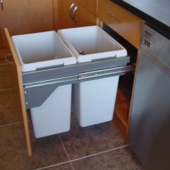 Small Recycling Bins For Kitchen Modern Window Treatments Cabinets  Great Storage Solutions You
