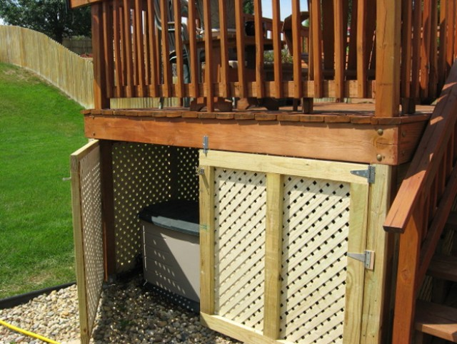 outdoor storage - under deck storage - quinju.com