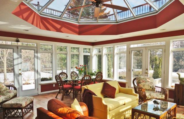 Large skylight-kitchen-Four Seasons Sunrooms-quinju.com
