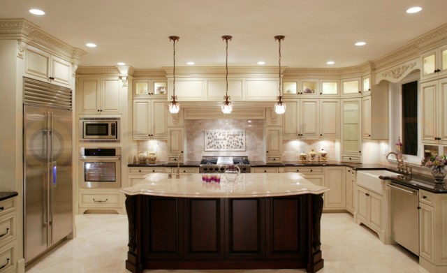 Recessed Lighting-LED-Elegant Kitchen-quinju.com