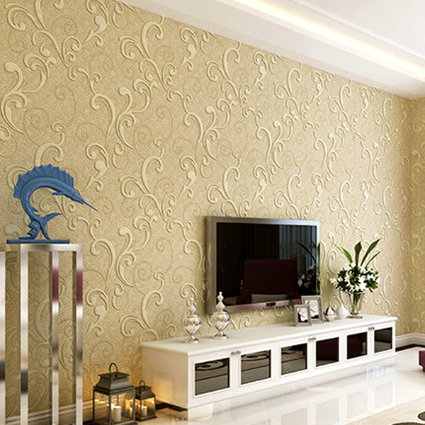 dramatic wallpaper design-wallpaper Decoration Ideas-quinju.com