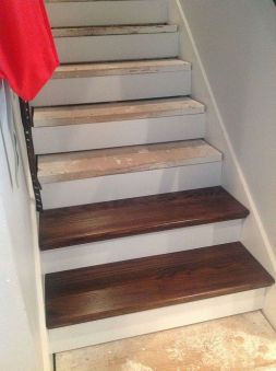 Stair Resurfacing - interior stairs renovation - quinju.com