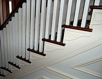 Stair Trim - Interior Stair Renovation - Quinju.com