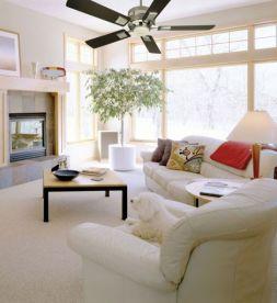 Reducing Air Conditioning Costs - using ceiling fans - quinju.com