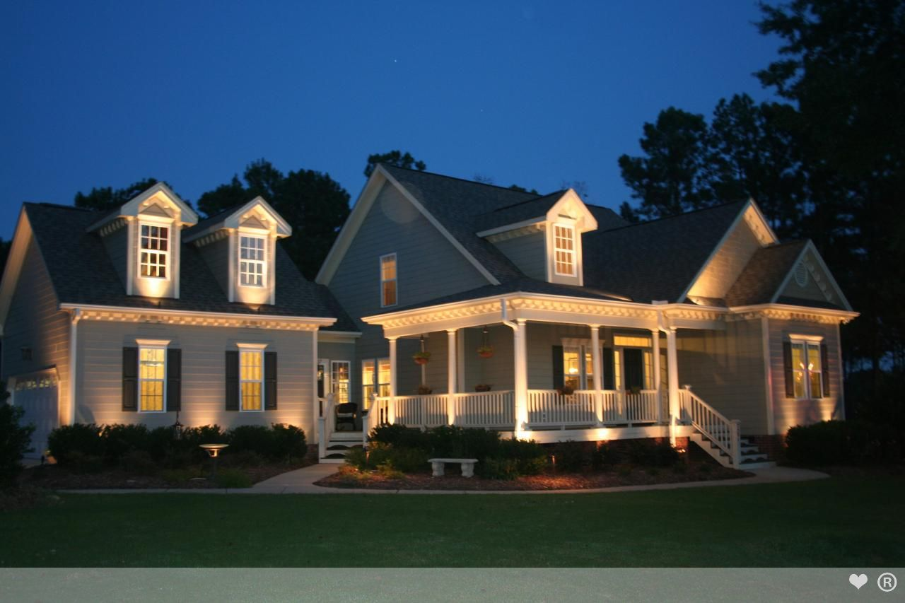 Exterior Pot Lights - Welcoming - warm - quinju.com