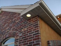 Exterior pot lights - soffit installtion - quinju.com