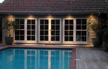 Exterior pot lights - added home security - quniju.com
