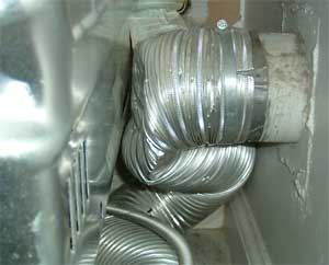 Kinked Vent Pipe