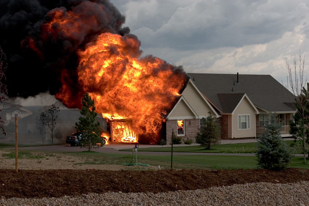 house fire- home insurance - quinju.com