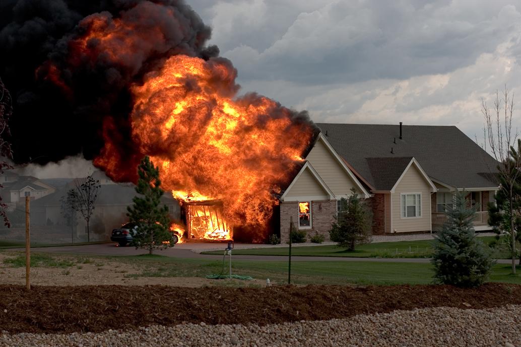 house fire- home insurance - quinju.com
