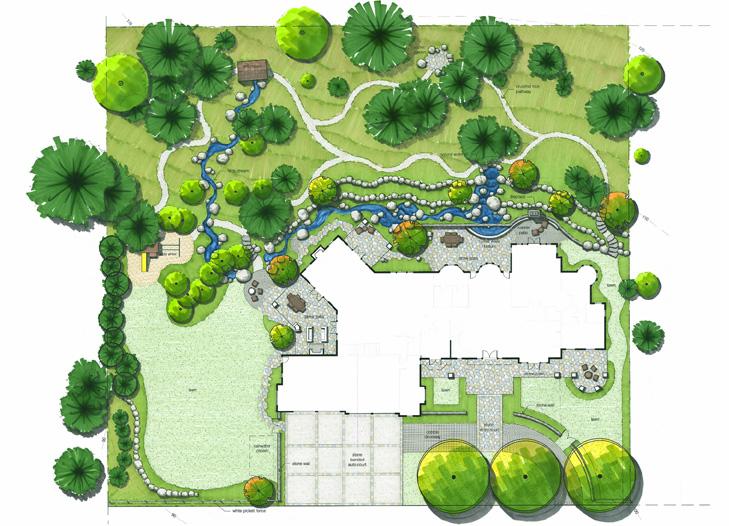 Professional Backyard Planning Diagram, Quinju.com