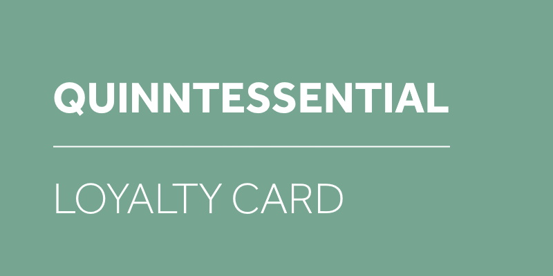 quinntessential loyalty card